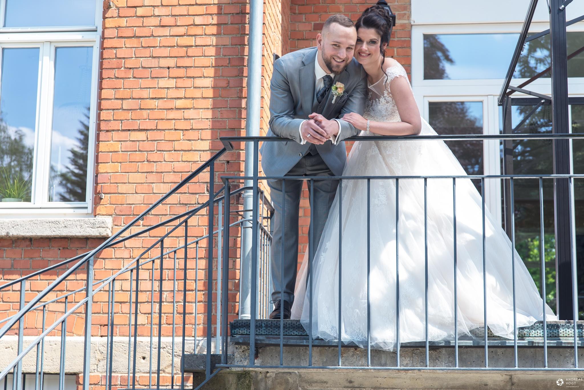 Hochzeit Katharina und Achim Brautpaarshooting Villa Stützel