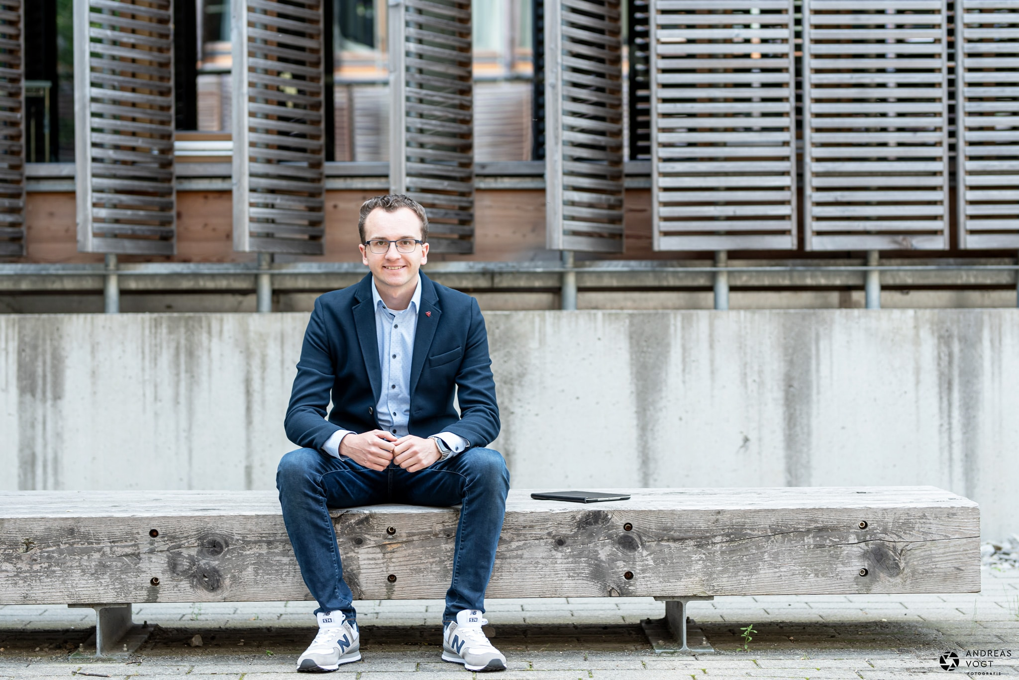 Business-Fotoshooting Andreas Vogt