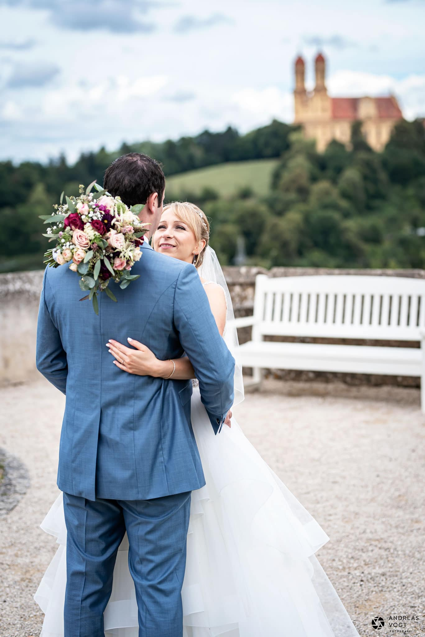 Hochzeitsfotos kirchliche Trauung in Ellwangen Andreas Vogt Fotografie