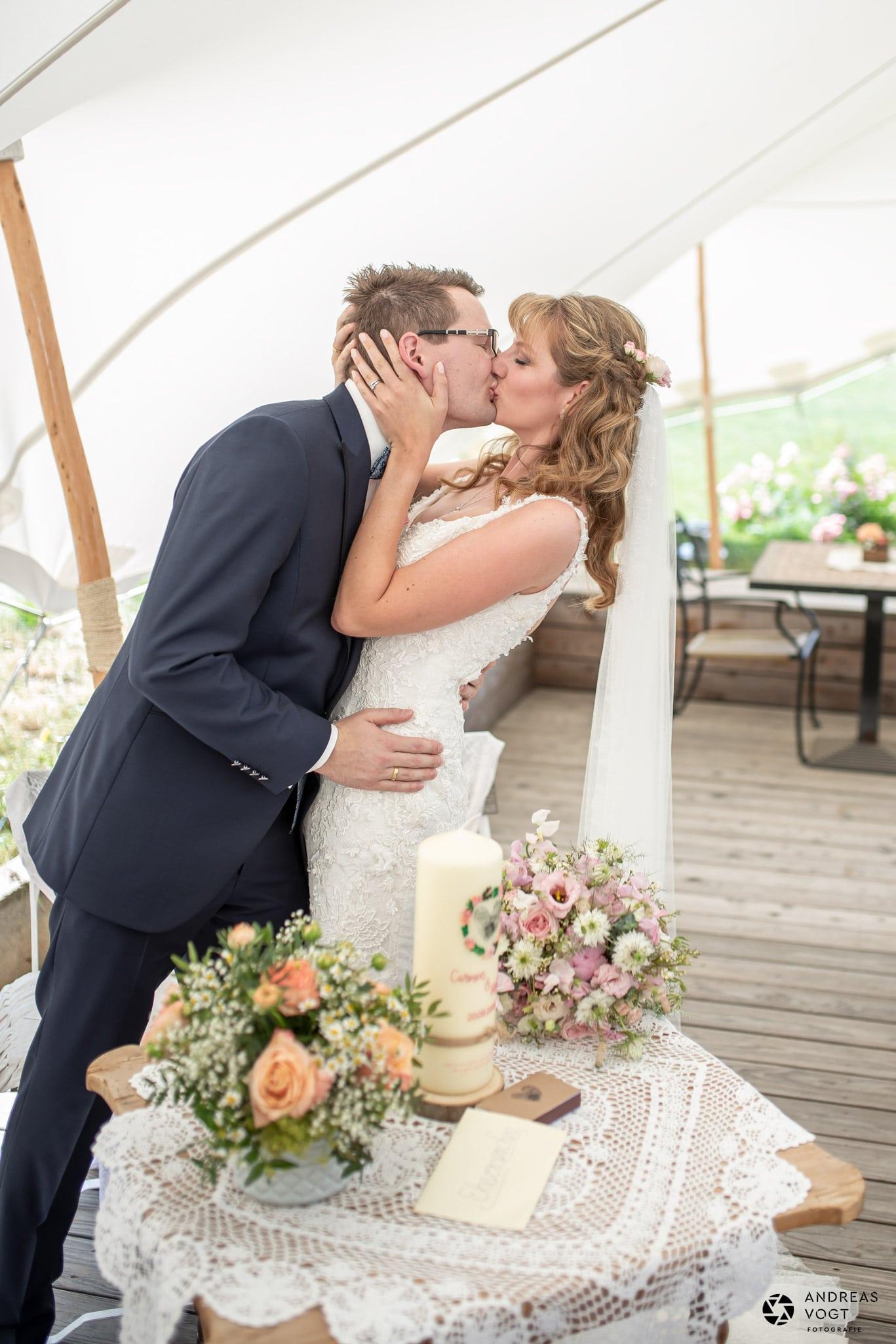Freie Trauung Carmen und Robert - Hochzeitsfotograf Andreas Vogt aus Aalen