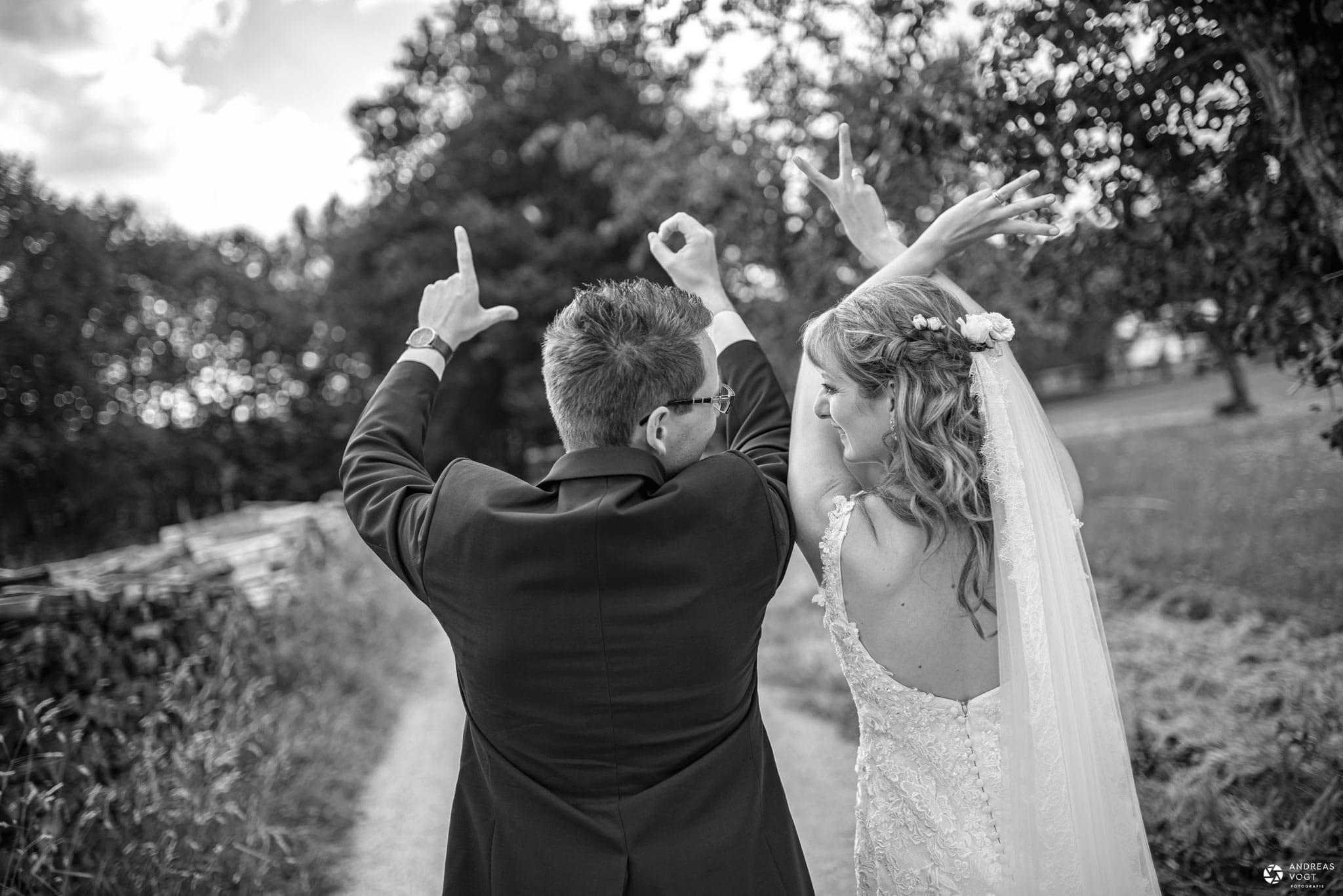 Brautpaar Carmen und Robert Hochzeitsfotograf Andreas Vogt