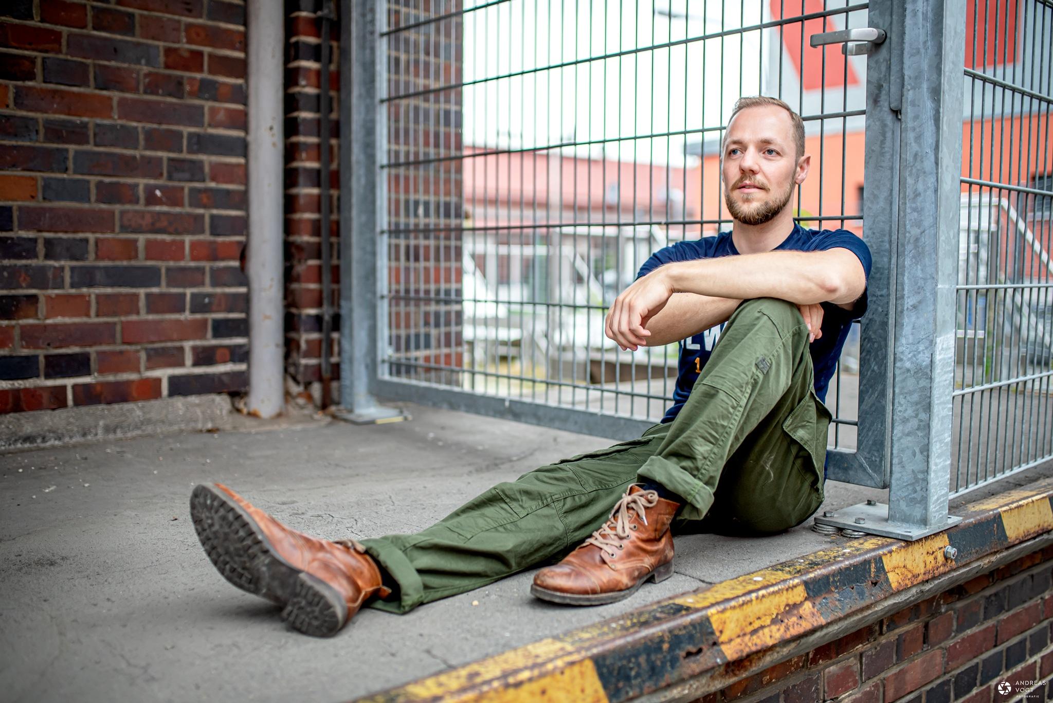 Männerportraits Fotoshooting mit Uwe - Andreas Vogt Fotograf aus Aalen