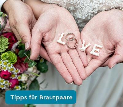 Tipps für Brautpaare - Zum Blog von Andreas Vogt - Hochzeitsfotograf aus Aalen